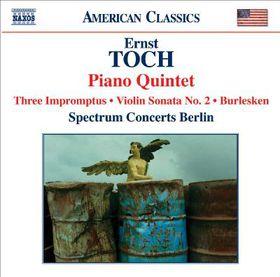 Toch: Piano Quintet - Piano Quintet (CD)