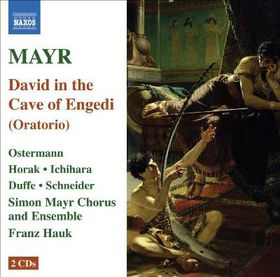Mayr: David (oratorio) - David In The Cave Of Engaddi (CD)