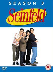 Seinfeld-Season 3 (4 Discs) - (Import DVD)