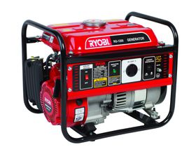 Ryobi - 4 Stroke Air-Cooled Generator - Red