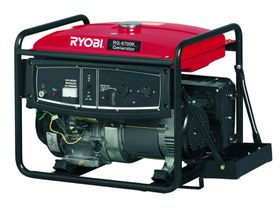 Ryobi - Generator 4-Stroke With Battery and Key Start - 6.5Kva