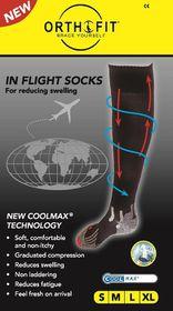 Orthofit Inflight Socks - White - Small