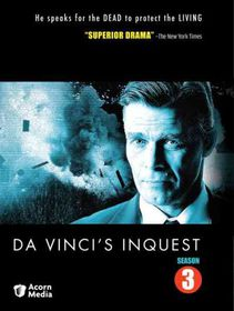 Da Vinci's Inquest Season 3 - (Region 1 Import DVD)