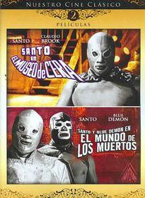 Santo En El Museo De Cera/Santo Y Blu - (Region 1 Import DVD)