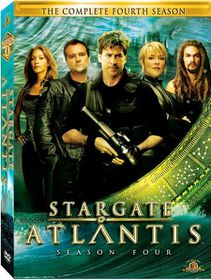 Stargate Atlantis:Season 4 - (Region 1 Import DVD)