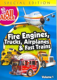 Best of the All Abouts Fire Engines T - (Region 1 Import DVD)