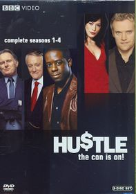 Hustle:Complete Seasons 1-4 - (Region 1 Import DVD)