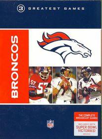 Nfl Greatest Games Series:Denver Bron - (Region 1 Import DVD)