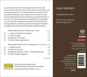 Nielsen: String Qts - String Quartets (CD)