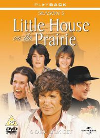 Little House on the Prairie Series 5 - (Import DVD)