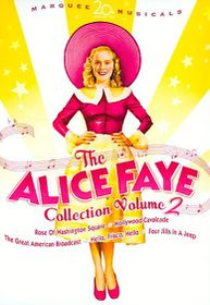 Alice Faye Vol 2 Collection - (Region 1 Import DVD)
