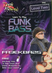 Learn Funk Bass Level 2 Featuring Fre - (Region 1 Import DVD)