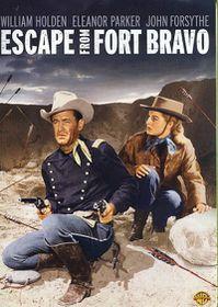 Escape from Fort Bravo - (Region 1 Import DVD)