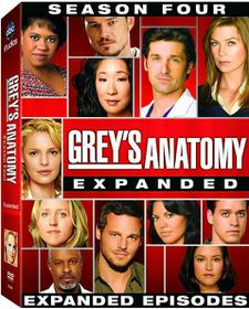 Grey's Anatomy:Complete Fourth Season - (Region 1 Import DVD)