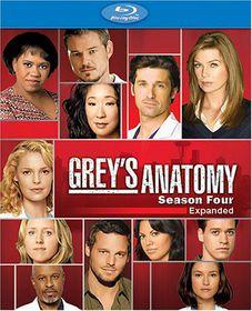 Grey's Anatomy:Complete Fourth Season - (Region A Import Blu-ray Disc)