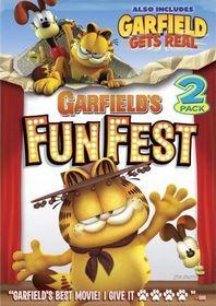 Garfield's Fun Fest / Garfield Gets Real - (Region 1 Import DVD)