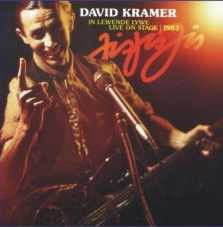 Kramer, David - Jis Jis Jis (CD)
