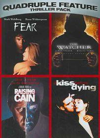 Thriller Pack Quadruple Feature - (Region 1 Import DVD)