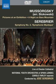 Mussorgsky: Pics At An Exhibition - Pictures At An Exhibition / Symphony No.3 (DVD)