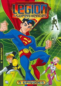 Legion of Superheroes:Volume 3 - (Region 1 Import DVD)