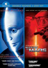 Bicentennial Man/Mission to Mars - (Region 1 Import DVD)