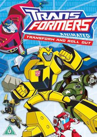 Transformers: Animated - Transform and Roll Out - (Import DVD)