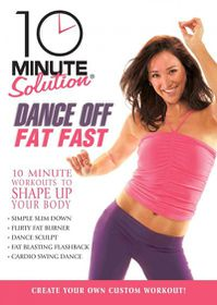 10 Minute Solution:Dance off Fat Fast - (Region 1 Import DVD)