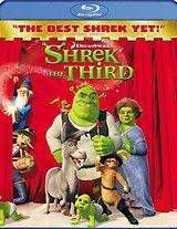 Shrek the Third - (Region 1 Import Blu-ray Disc)