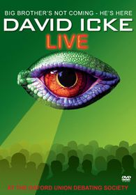 David Icke Live at the Oxford Union Debating Society - (Import DVD)