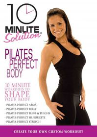 10 Minute Solution:Pilates Perfect Bo - (Region 1 Import DVD)