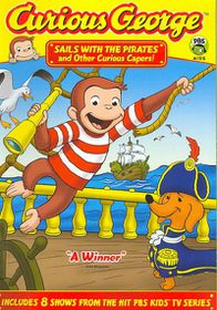 Curious George:Sails with the Pirates - (Region 1 Import DVD)