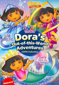 Dora's out of This World Adventures D - (Region 1 Import DVD)
