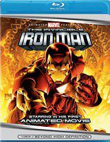 Invincible Iron Man, The (2007) - (Region A Import Blu-ray Disc)