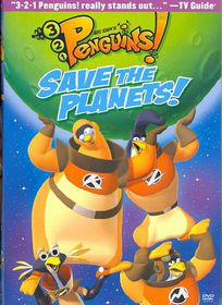 3-2-1 Penguins:Save the Planets - (Region 1 Import DVD)