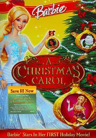 Barbie in a Christmas Carol - (Region 1 Import DVD)