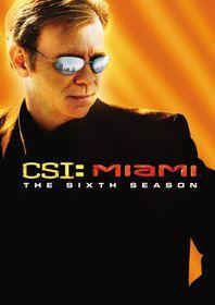 CSI Miami:Sixth Season - (Region 1 Import DVD)