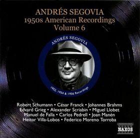 Segovia, Andres - 50's American Recordings - Vol.6 (CD)