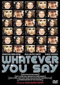 Whatever You Say (Mon Idole) - (Region 1 Import DVD)