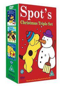 Spot's Magical Christmas Tree Triple Set - (Import DVD)