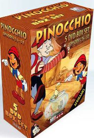Pinocchio Afrikaans Boks Stel 2 (Episodes 26-52) (DVD)
