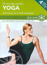 15 Minute Results Yoga - (Region 1 Import DVD)