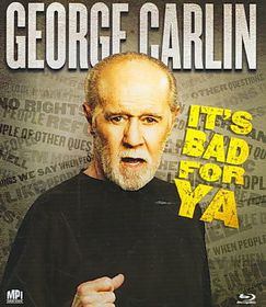 Carlin It's Bad for Ya - (Region A Import Blu-ray Disc)