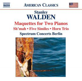 Walden:Maquettes for Two Pianos Sh'ma - (Import CD)