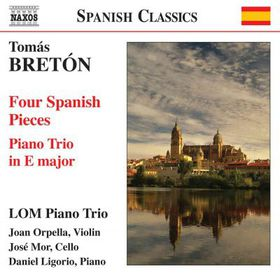Breton: 4 Spanish Pieces - Breton: 4 Spanish Pieces (CD)