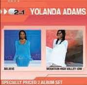 Yolanda Adams - Believe / Mountain High Valley Low (CD)