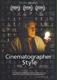Cinematographer Style - (Region 1 Import DVD)
