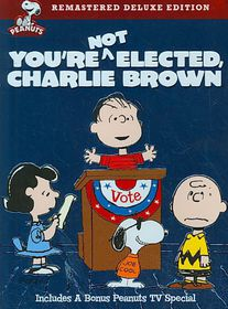 You're Not Elected Charlie Brown - (Region 1 Import DVD)