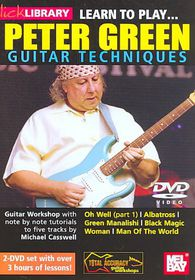 Learn to Play Peter Green Guitar Tech - (Region 1 Import DVD)