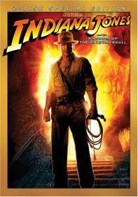 Indiana Jones and the Kingdom of the Crystal Skull - (Region 1 Import DVD)