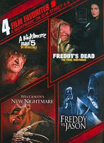 4 Film Favorite:Nightmare on Elm Stre - (Region 1 Import DVD)